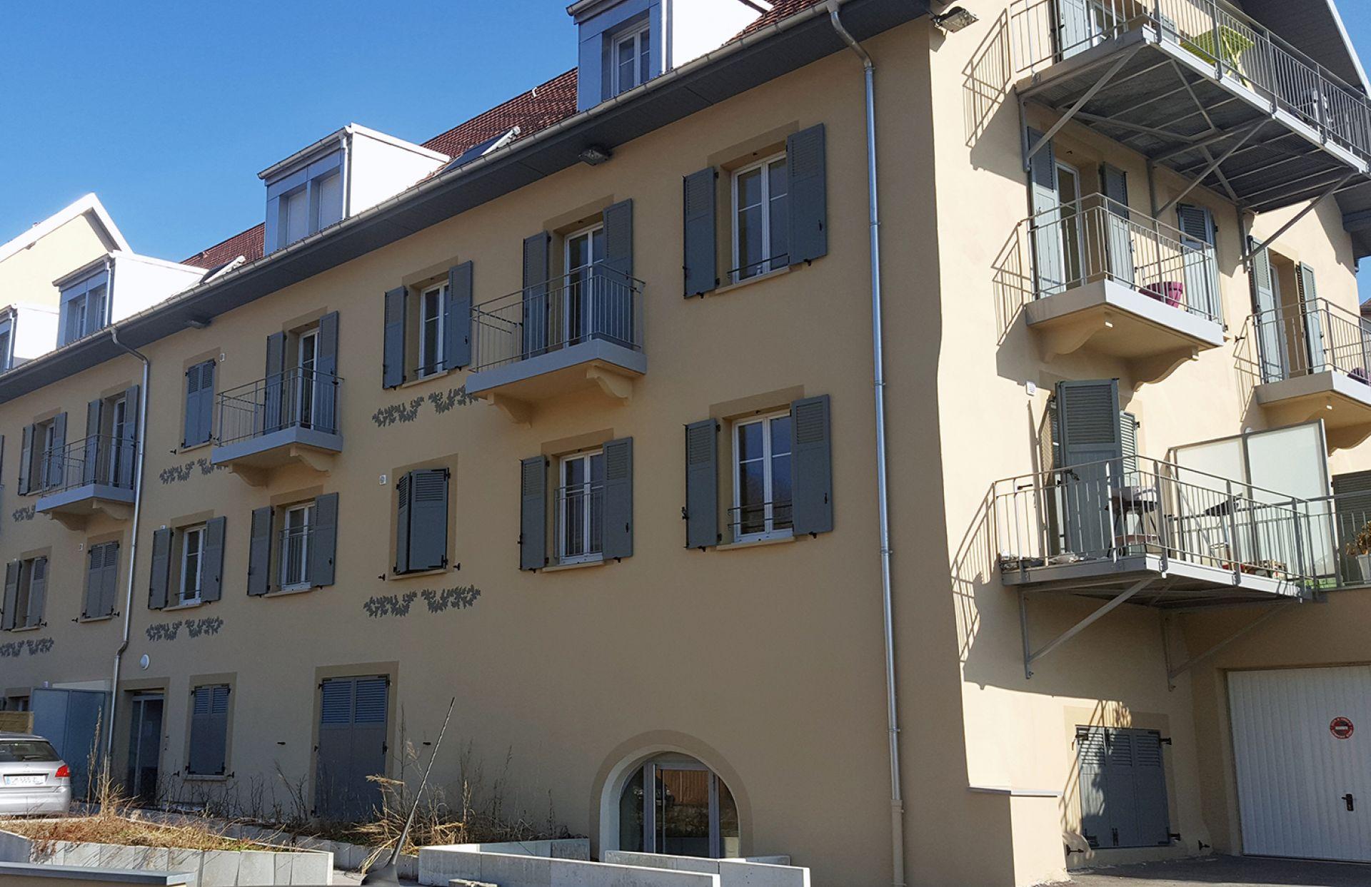 Appartement à louer à Jougne