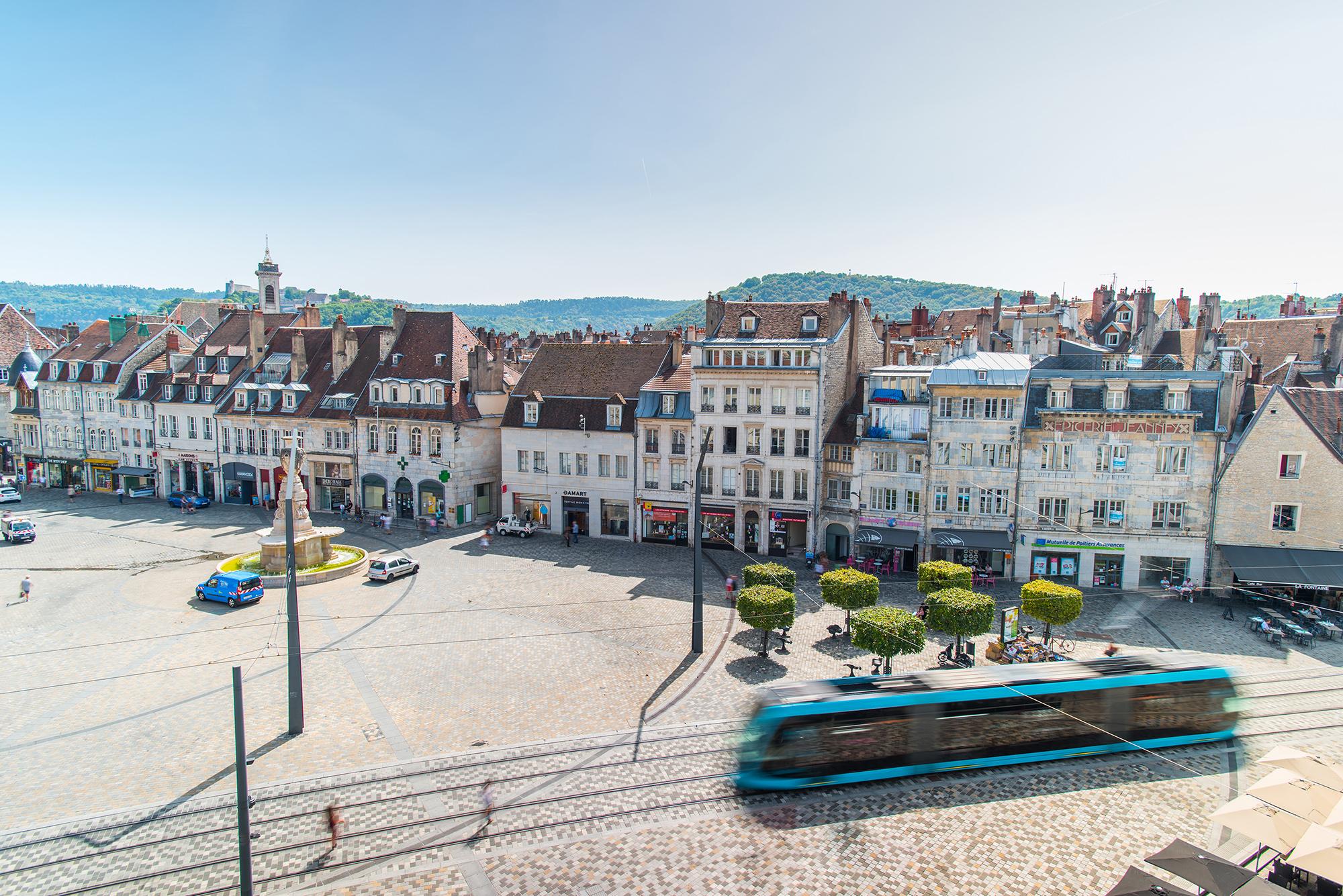 Louer un appartement au centre de Besançon